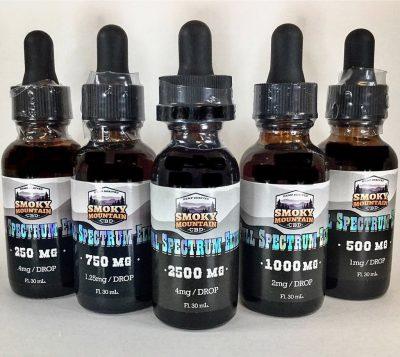 Smoky Mountain cbd full spectrum CBD oil cbd near me hemp Knoxville, TN group
