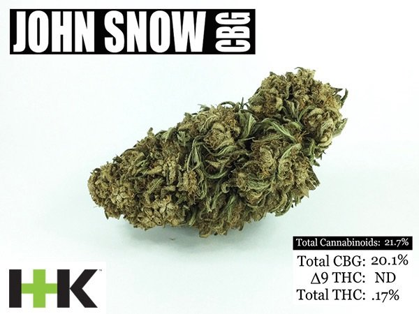 CBD knoxville hemp flower john snow CBG