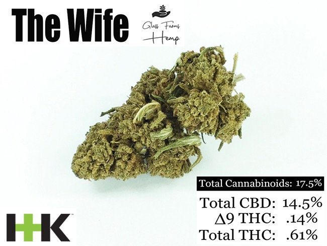 CBD Knoxville hemp flower the wife