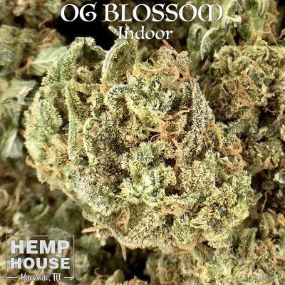 OG Blossom indoor hemp flower near be cbd knoxville, tn cbd near me hemp house